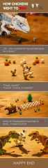 LEGO TABLE COMICS: Chicken war