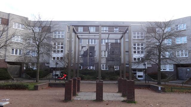 1984/85 Berlin-W. Brunnenpavillon von Paul Pfarr Brunnenstraße 82/Promenade zur Putbusser Straße in 13355 Gesundbrunnen