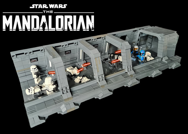 LEGO STAR WARS THE MANDALORIAN Season 2 – Inside the Gozanti cruiser