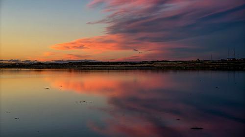 clouds sky cloud color sunset rio river argentina patagonia riogallegos riocarmensilva weather
