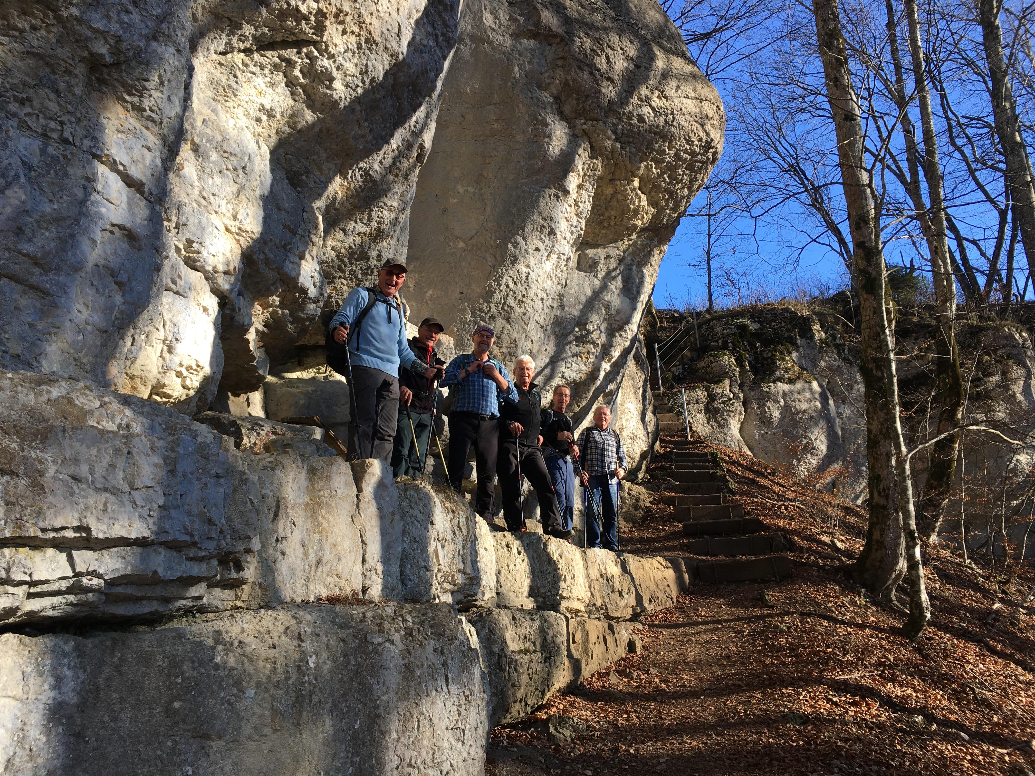2020-11-25 Wanderung Mont Raimeux