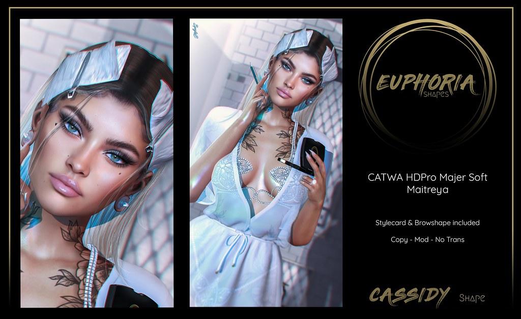 EUPHORIA Shapes –  CASSIDY Shape ( CATWA HDPRO MajerSoft )