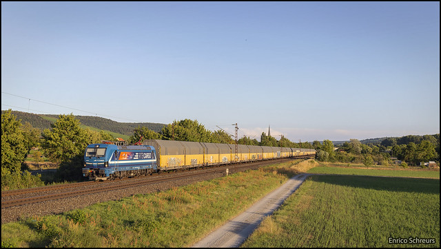 21 juli 2020 - RTB Cargo 192 016 - Thüngersheim