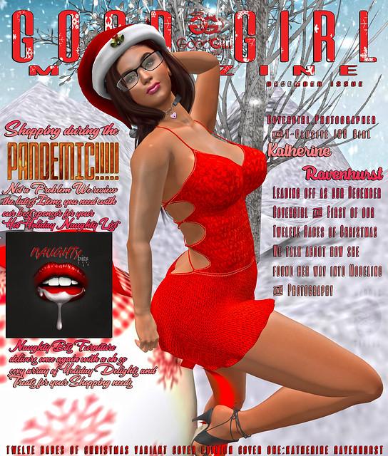 Good Girl Magazine December 12 Babes of Christmas 1