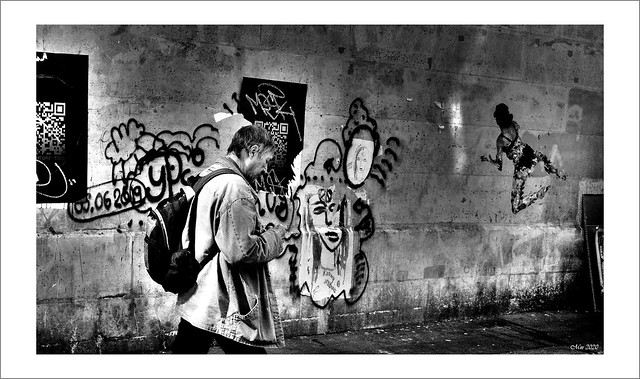 Parcours graffitis.....