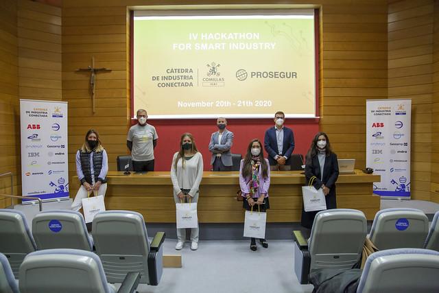 Premios 4 Hackaton ICAI - Prosegur