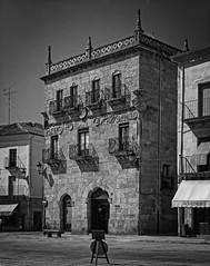 Casa de los Cueto en la Plaza Mayor de Ciudad Rodrigo (Salamanca)