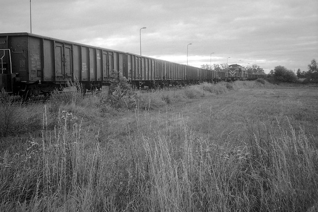 Pociąg o świcie / Train at dawn