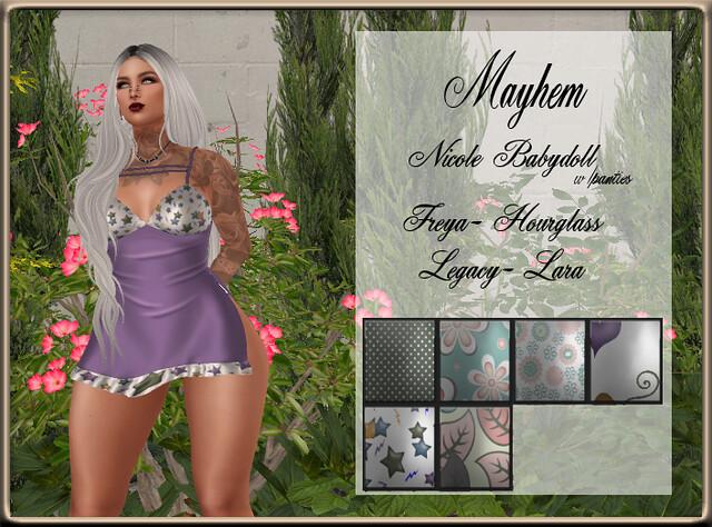 Mayhem Nicole Babydoll AD