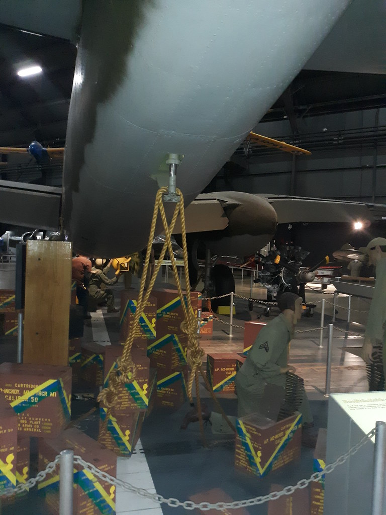Doolittle B25 exhibit at AF Museum