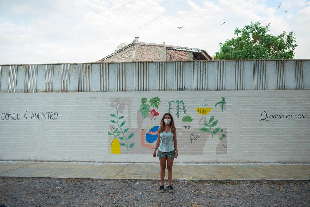 Arte consciente: conocé los nuevos murales de los artistas sanjuaninos