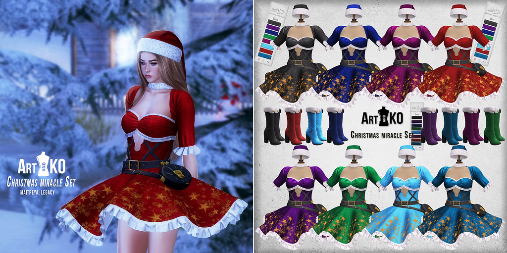 Art&Ko – Christmas miracle Set – VANITY EVENT