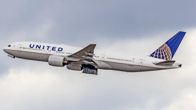 United Airlines Boeing B777-200 N786UA Munich (MUC/EDDM)