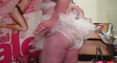 Sissy Husband Upskirt Panties
