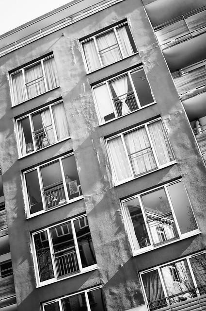 Fassade einer Mietskaserne