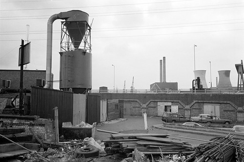 M & J Reuben, London Sawmills, Wharfside Rd, Newham, 1983 35t-25_2400 | by peter marshall