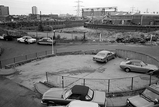 Bow Creek,  Flood Barrier, Wharfside Rd, Newham, 1983 35t-11_2400