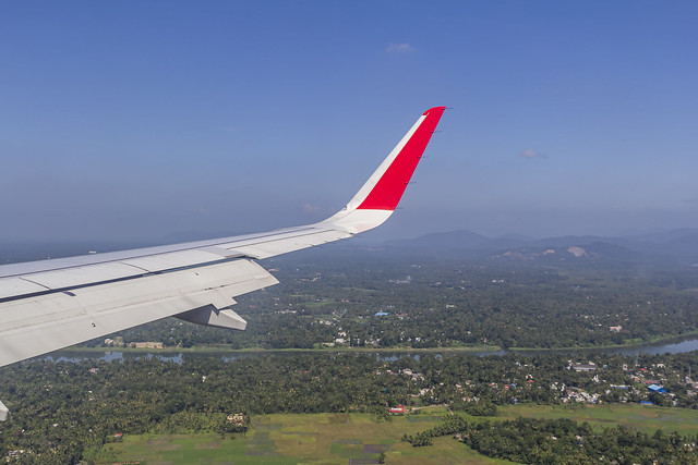 Air Asia India Airbus A320 VT-RED