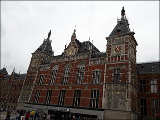 Amsterdam Centraal Station, the Netherlands