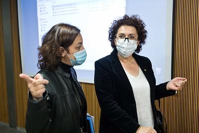 Compareixença Pública de la M.I. Sra. Judith Pallarés. 30/11/2020