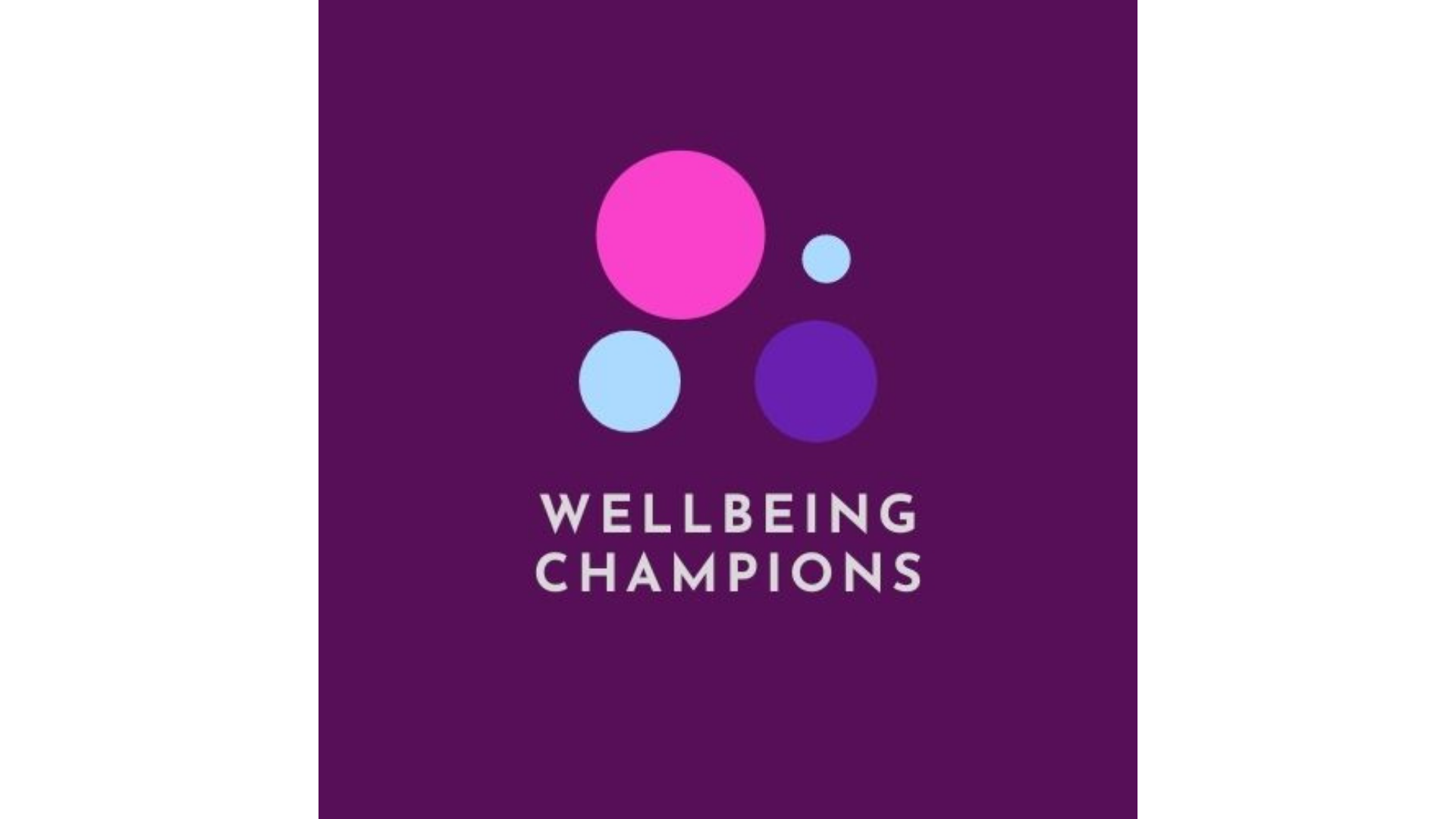 Wellbeing Champions logo