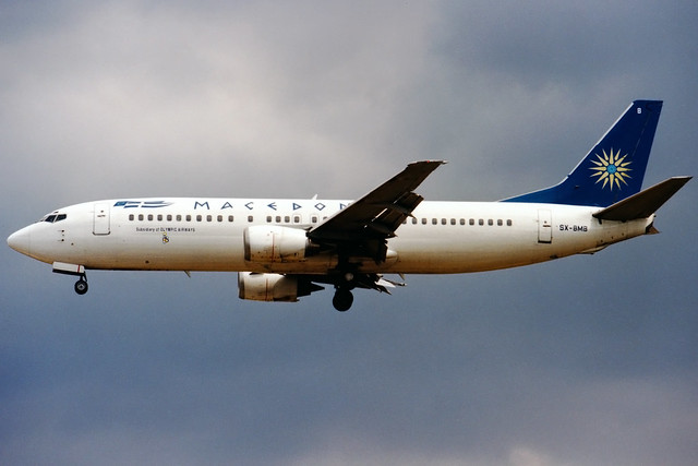 Macedonian Airlines | Boeing 737-400 | SX-BMB | Athens Hellinikon