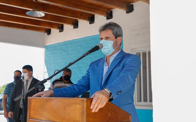2020-11-30 PRENSA: El gobernador Uñac inauguró una nueva casa del Registro Civil de Ullum