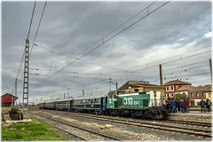 Tren Azul en Luceni