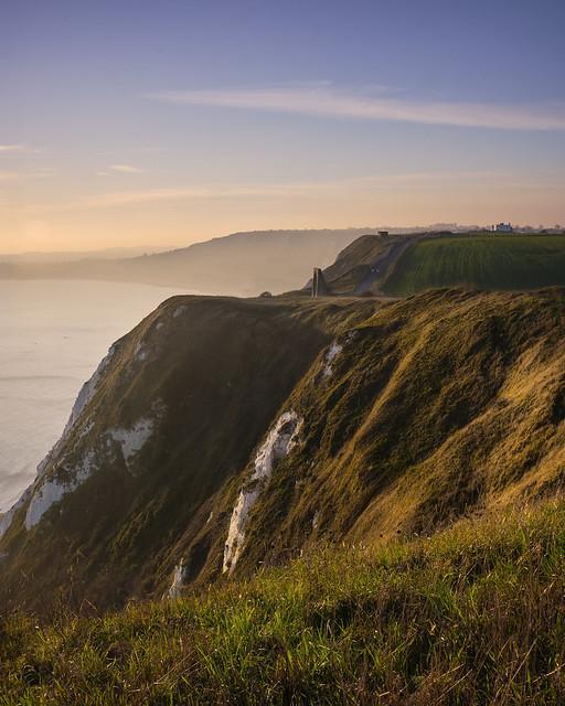 Abbots Cliff near Folkestone