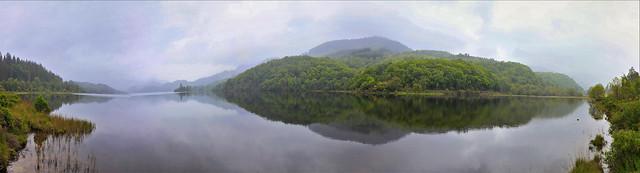 Scottish Landscape Panorama.
