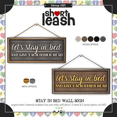 .:Short Leash:. November Group Gift