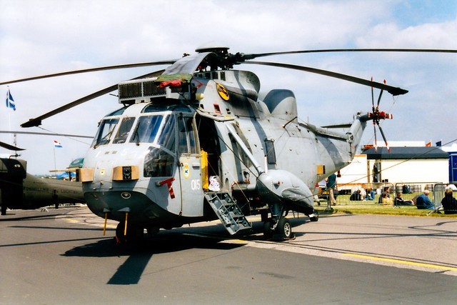 Sea King HAS6 XV674 RAF Waddington 29.06.02