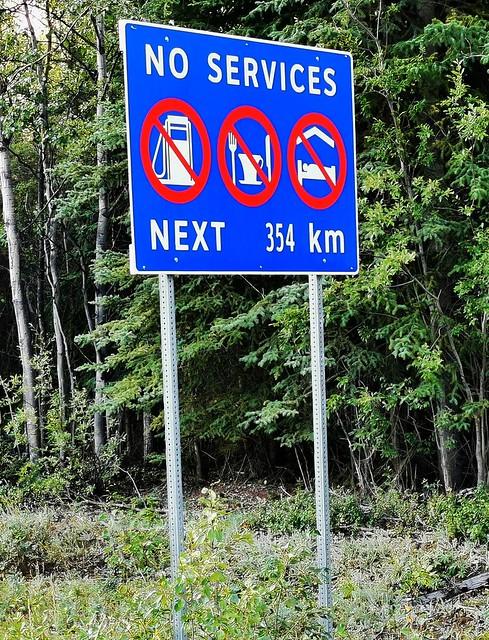 Hwy 4 - Robert Campbell Highway.  Yukon Territory, Canada.