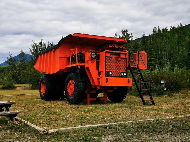 Ore Hauler. Faro, Yukon Territory, Canada