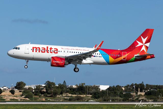 Air Malta Airbus A320-251N  |  9H-NED  |  LMML