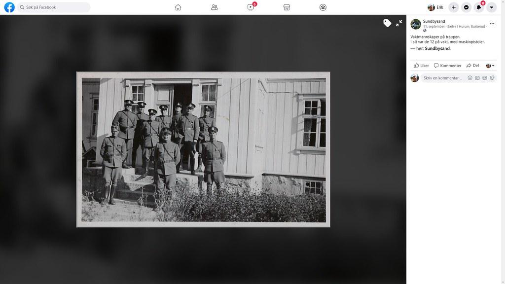 vaktstyrke som passet på trotsky