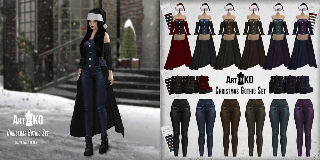 Art&Ko – Christmas Gothic Set – The Darkness Event