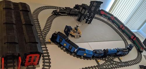 One half of my LEGO layout - 11-30-2020