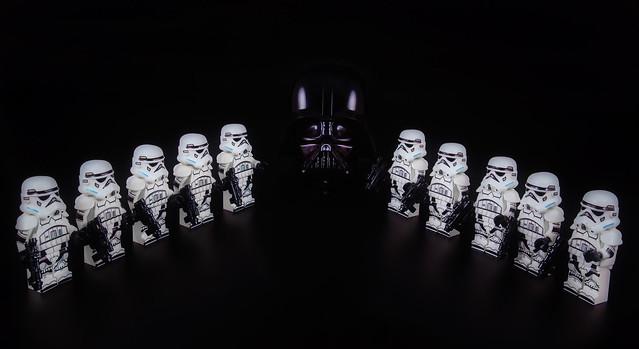 Dark Vador et Stormtroopers : mort de David Prowse