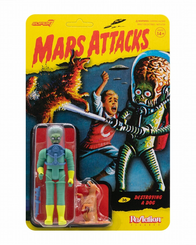 Super7 ReAction Figures系列《星戰毀滅者》三款新作發表 恐怖外星人侵略中!