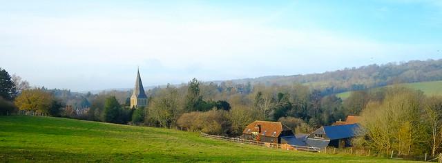 Beautiful Shere Surrey
