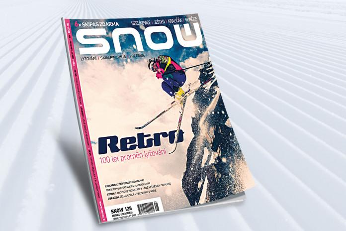 SNOW 128 (prosinec 2020): Retro - 100 let proměn lyžování, 6x skipas zdarma