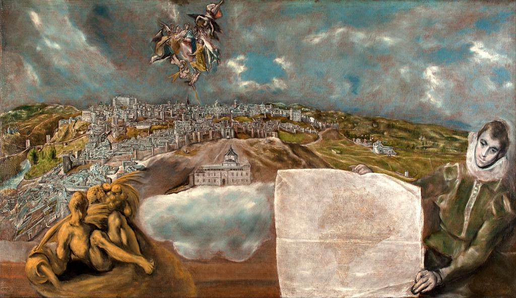 Vista y Plano de Toledo del Greco (1610-1614)