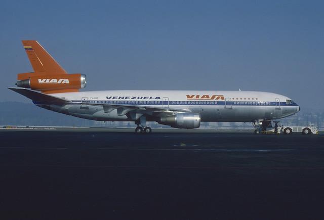 VIASA DC-10-30;  YV-135C, February 1983