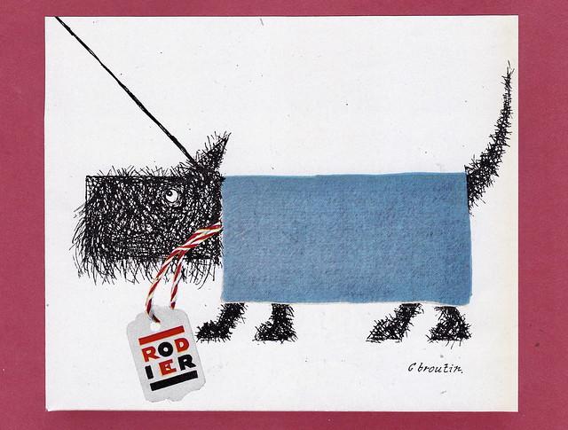 RODIER advertisement 1956
