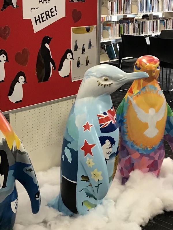 Pop Up Penguins at Papanui Library