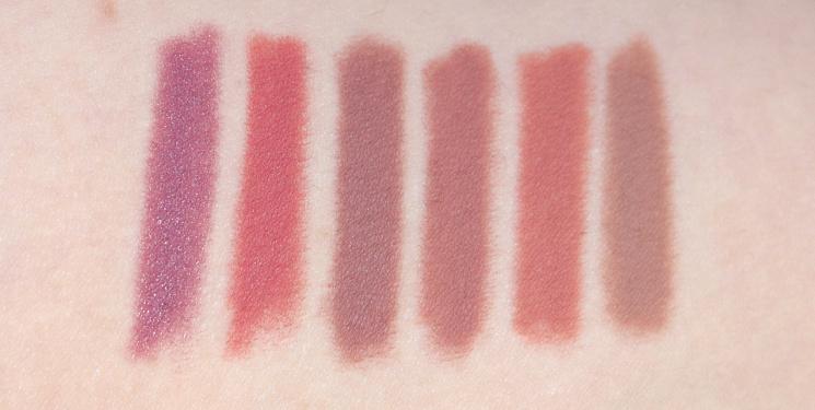 lip liner swatches sephora melt inglot colourpop