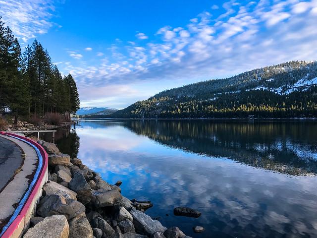 Donner Lake... twice