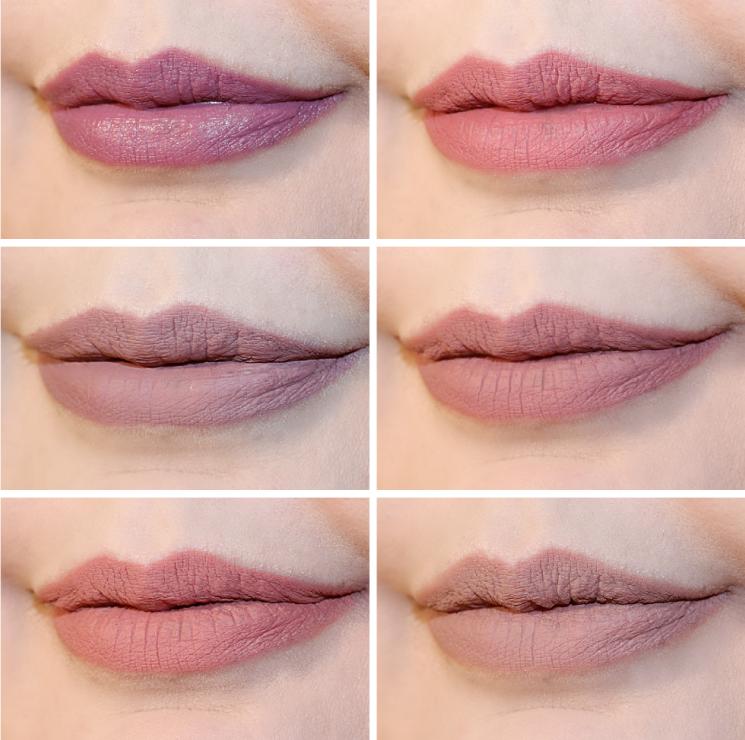 lip liner lovin lip swatches sephora colourpop melt inglot