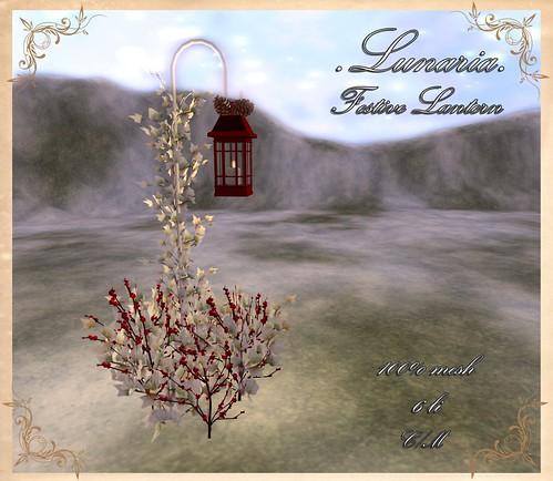 Festive Lantern - Gift!